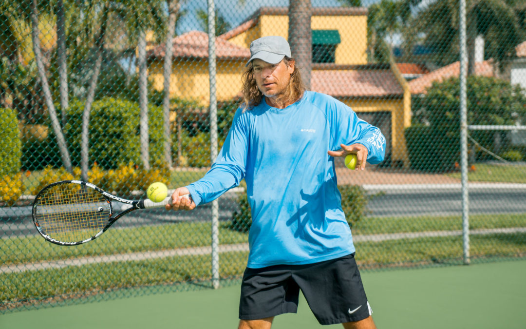Rich Benvin Professional Tennis Coach in Delray Beach, Florida